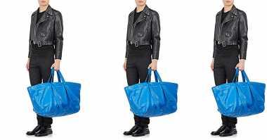 Waduh, Tas Jinjing Puluhan Juta Ini Bentuknya Mirip Tas Belanja ke Pasar