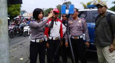 Olah TKP Kecelakaan Maut di Puncak, Korlantas Gunakan Alat Canggih