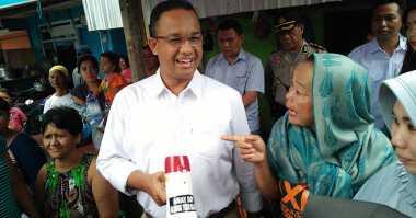 Soal Jakarta Bersyariah, Anies: Tanyakan ke Orang yang Menggulirkan Isu Itu