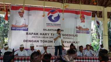 Hary Tanoe Silaturahmi dengan Tokoh Masyarakat Gianyar