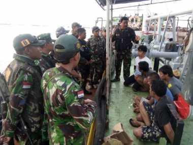 TNI AL Amankan 2 Kapal Tanker yang Kabur dari Lokasi Penahanan di Malaysia