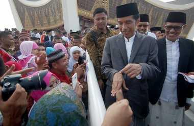 Cerita Jokowi soal Beda Perayaan Isra Miraj di Istana Negara dengan Pondok Pesantren