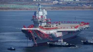 Hebat! China Berhasil Bangun Kapal Induk Sendiri