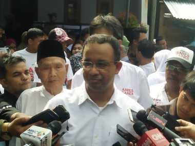Unggul di Pilkada DKI, Anies: Ini Hanya Kemenangan Kecil