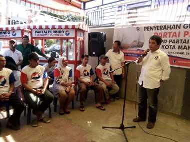 Hore...Partai Perindo Akan Bagikan 100 Ribu Gerobak UMKM Hingga 2019