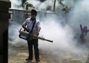 Warga Losari Senang Dapat Fogging Gratis dari Perindo Jateng