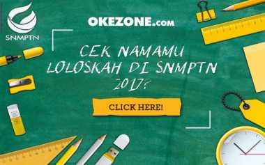 Cek Hasil SNMPTN di Okezone Yuk