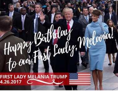 Sssttt... Diam-Diam Donald Trump Sampaikan Pesan Manis di Hari Ulang Tahun sang Istri