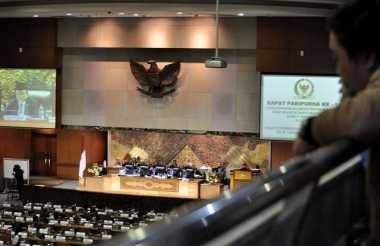 Akhirnya, Surat Usulan Hak Angket KPK Dibacakan Dalam Rapat Paripurna