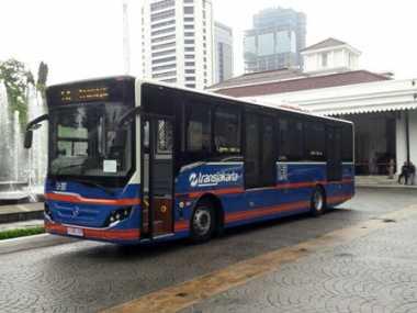 TransJakarta Tambah 10 Bus Edisi Vintage