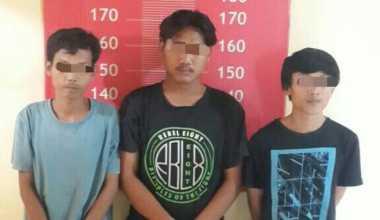 Edarkan Tembakau Gorila, 3 Pemuda Diringkus Polisi di Tangerang