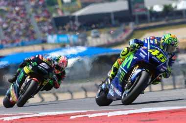 Tayangan Lengkap Insiden Rossi vs Zarco, Serta Momen Bersalaman Keduanya