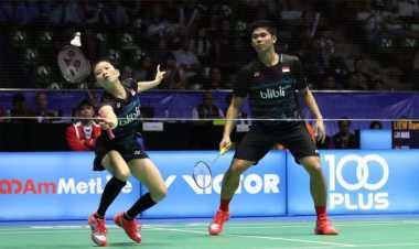 Kalahkan Pasangan Korea Selatan, Praveen/Debby Lolos ke Perempatfinal Badminton Asia Championships 2017