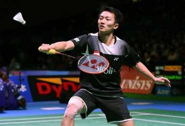 Ihsan Maulana Ditundukkan Chou Tien Chen, Tunggal Putra Indonesia Habis di Badminton Asia 2017