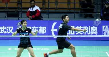Bertumbangan, Indonesia Sisakan Praveen/Debby di Perempatfinal Badminton Asia Championships 2017