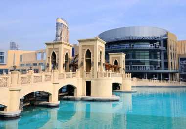 Dubai Mal, Surga Belanja yang Suguhkan Panorama Perkotaan Menakjubkan