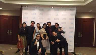 Kompetisi Peradilan Semu di AS, UGM Raih Best Exhibition Memorial