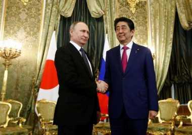 PM Jepang dan Presiden Rusia Sepakat Dinginkan Situasi di Semenanjung Korea