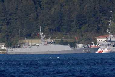 Alami Tabrakan, Kapal Mata-Mata Rusia Tenggelam di Laut Hitam