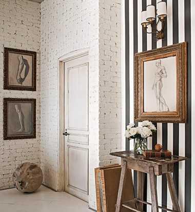 Motif Black and White Terlihat Monoton jika Hanya di Dinding! Yuk Mainkan Juga Motif Stripes