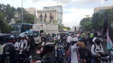 Massa GNPF Mulai Tinggalkan PN Jakut