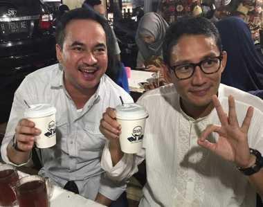 """Bertemu dengan Ketua Kadin Jateng, Warga Sapa Sandi """"Oke Oce"""""""
