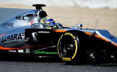 Dituntut Pasang Nama Pembalap di Depan Mobil Balapnya, Force India: Regulasi Tersebut Bikin Kami Rugi!