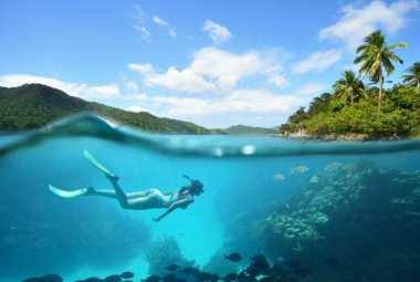 Mau Menyelam di Gunung Kidul? Ke Pantai Sadranan Aja