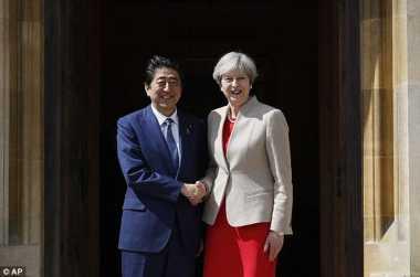 Di Hadapan PM Jepang, PM Inggris Sebut Korut Sebagai Ancaman Bagi Perdamaian dan Keamanan Global