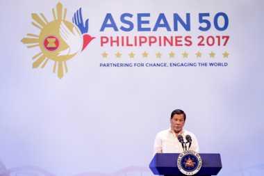 KTT Ke-30 ASEAN, Duterte Ajak Para Pemimpin Perangi Narkoba