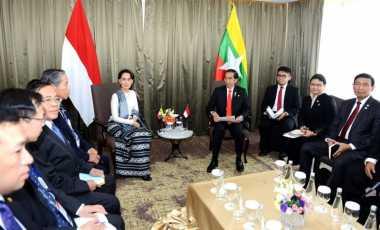 Pemerintah Indonesia Dorong Perdamaian di Rakhine State