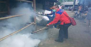 Konsisten Jalankan Program Fogging, Rescue Perindo Asapi Wilayah Kalideres