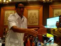 Sandiaga Hadiri Rapat Pleno Terbuka Rekapitulasi Tingkat Provinsi