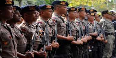 Kawal Aksi Buruh, 8.595 Polisi Diterjunkan di Jateng