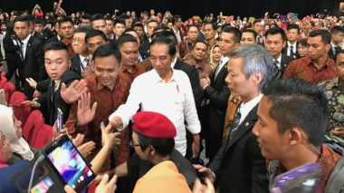 Tiba di Hong Kong, WNI: 'I Love Jokowi'