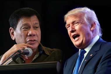 Trump Undang Presiden Filipina ke Gedung Putih