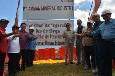 Kunjungan Menteri ESDM ke Sumbawa, PT AMNT Komitmen Selesaikan Smelter Sesuai Target