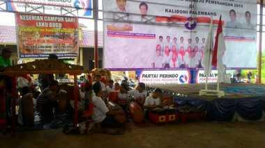 Reog Ponorogo Ramaikan Konsolidasi Pengurus Partai Perindo di Palembang