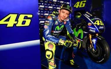 Sempat Alami Kesulitan Jelang MotoGP 2017, Rossi: Saya Kerja Keras untuk Capai Target