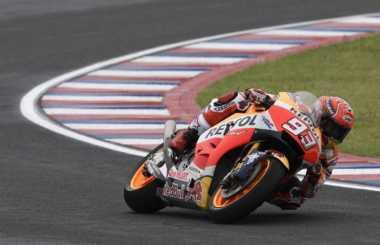 Ingin Saingi Vinales Rebut Titel MotoGP 2017, Marquez: Bukan Strategi, Tapi Konsistensi yang Menentukan