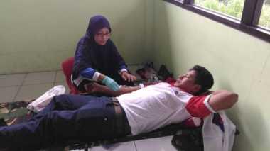 Konsolidasi Mesin Partai, Perindo Kabupaten Semarang Gelar Aksi Donor Darah