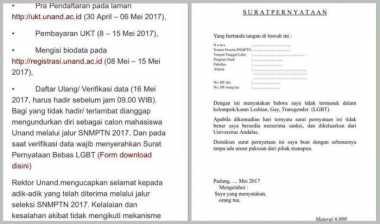 Heboh LGBT, LBH Padang Layangkan Surat Terbuka ke Rektor Unand