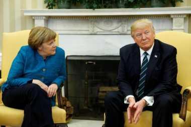 Kanselir Jerman Mengaku Berteman Baik dengan Donald Trump