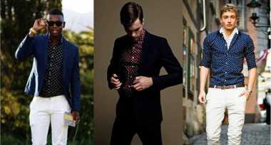 Biar Makin Kece, Coba Trik Mengenakan Busana Motif Polkadot untuk Pria