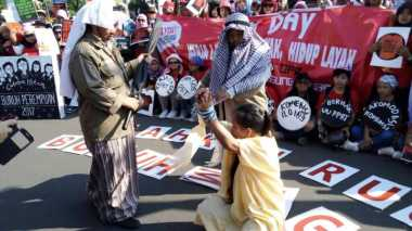 Peringati May Day, Migrant Care: Lebih dari 150.000 Buruh Dapat Perlakuan Tak Mengenakan
