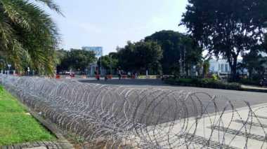 Massa Buruh Belum Memadati Kawasan Istana Negara