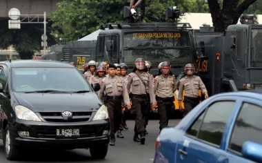 Ratusan Polisi Disebar di 16 Titik Amankan May Day di Bekasi