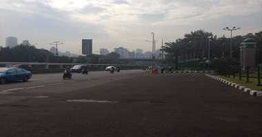 Arus Lalin di Medan Sepi Jelang Aksi Buruh