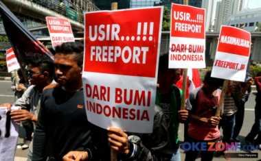 Ribuan Buruh di Mimika Desak Pemerintah Tuntaskan Persoalan Freeport