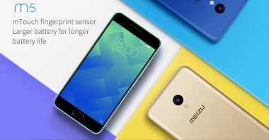 Menelisik Kecanggihan Smartphone Meizu M5 yang Elegant
